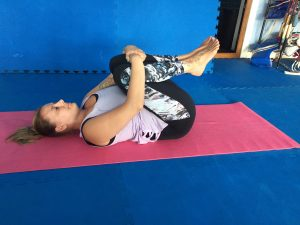 yoga asana sequence for relieving menstrual discomfort